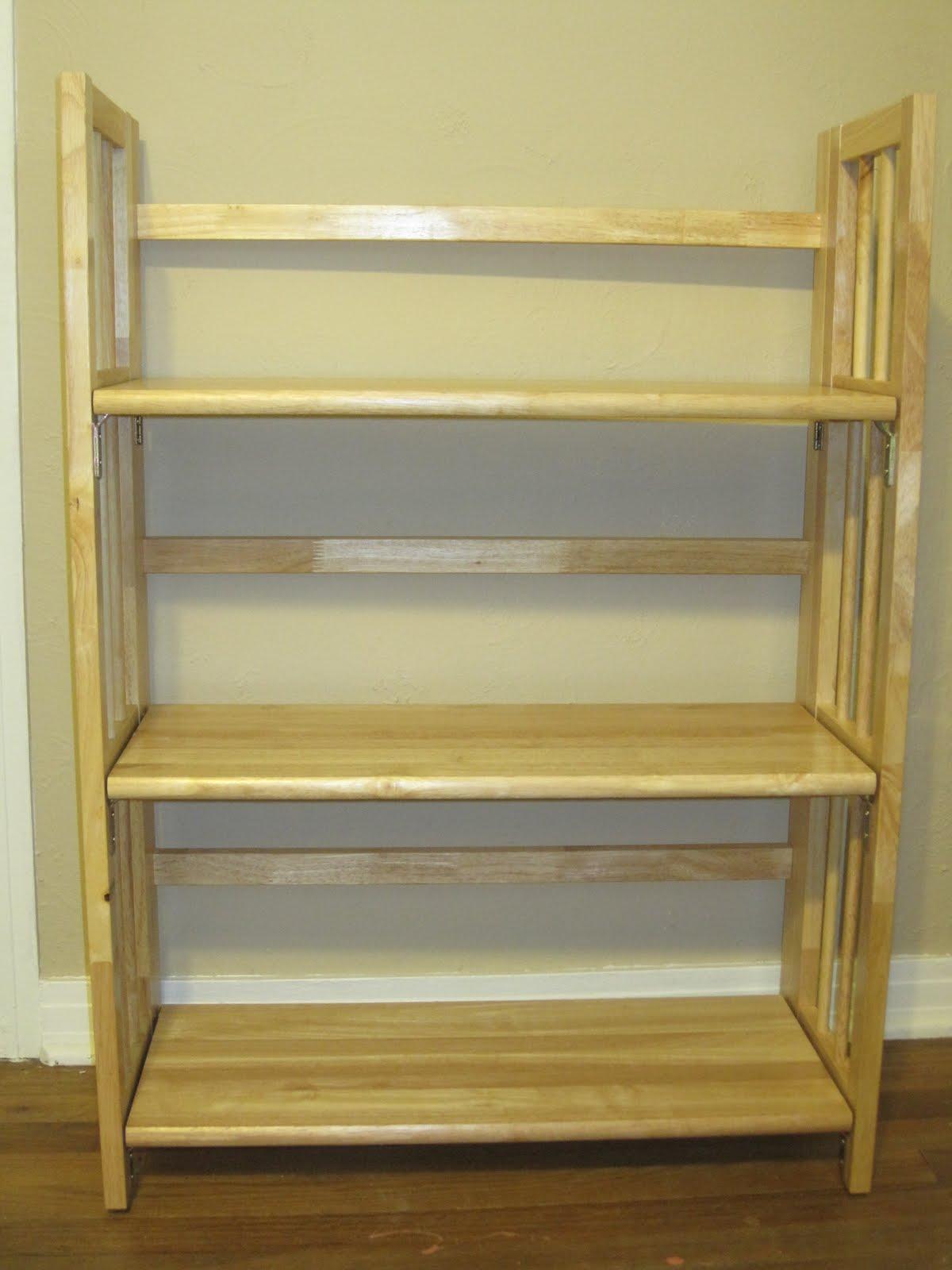 folding bookcase plans